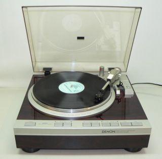 DENON DP 47F Vintage High End Turntable mit Denon System von 1985