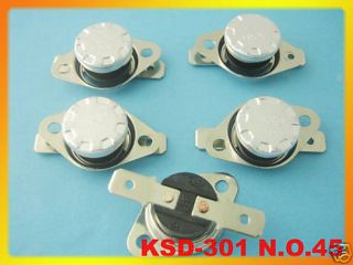 pcs Temperature Control Switch Thermostat 45°C N.O.