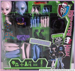 Monster High Create A Monster Vampire Sea Monster  Special zum