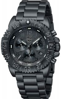 Luminox Herrenuhr Navy Seal Steel Colormark Chronograph 3182.BO