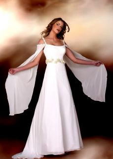 AVAs EMPIRE BRAUTKLEID MORGAN LE FAY OFFWHITE Gr.44