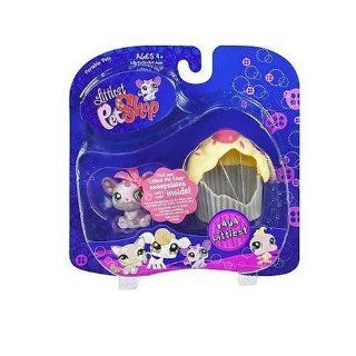 Littlest Pet Shop   Portable Pets   CUPCAKE Haus Set mit MAUS # 464