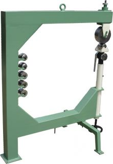 Pro Rollenstreckmaschine English Wheel Blechbearbeitung