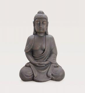 0911) Deko Asien BUDDHA Figur Statue Skulptur FENG SHUI sitzend