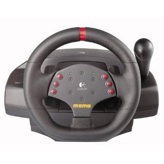 Logitech MOMO Racing Force PC Steering Wheel USB Computer