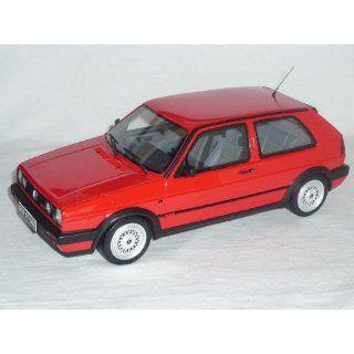 VW VOLKSWAGEN GOLF GTI 2 II G60 G 60 ROT 1/18 OTTO MODELS MODELLAUTO