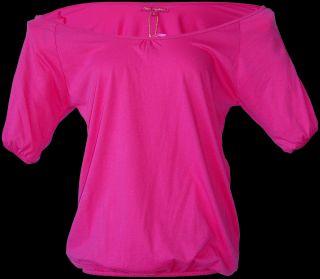 Daniela Katzenberger Damen T Shirt Shirt Bluse mit Loch am Arm 2