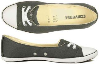 Converse Schuhe All Star light Skimmer Ballerina charcoal grey grau 37