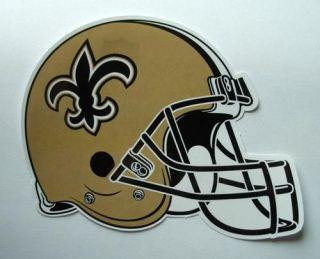 NFL Football Helm Aufkleber/Sticker NEW ORLEANS SAINTS