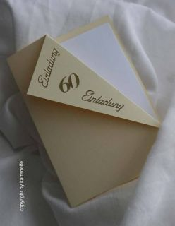 Einladungen runder Geburtstag ( 30 40 50 60) Einladungskarten