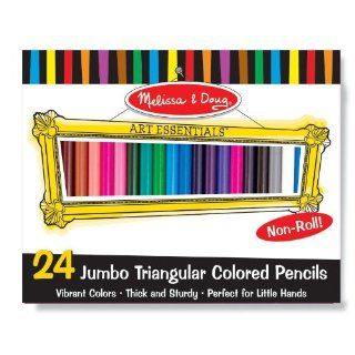 Colored Pencils (Set Of 24) (Buntstifte): Spielzeug
