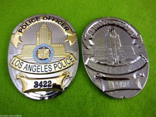 Officer Los Angeles Police US Badge Polizei LAPD Abzeichen Marke