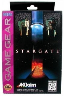 Game Gear   Stargate (US) (NEU & OVP)