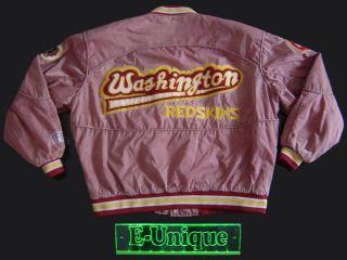 VINTAGE WASHINGTON REDSKINS 1990s CAMPRI JACKE JACKET XL VTG.