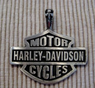 Davidson Classic Bar & Shield Metall Anhänger Route 66 USA Biker, neu