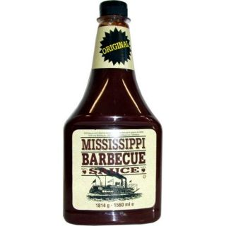 Mississippi Barbecue Sauce Original 1560ml (Grill Sauce)