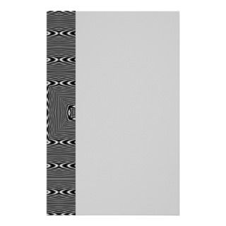 Optical Illusion 3 Stationery Design