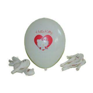 12 tlg. Set Luftballons Hello Kitty Ballon Kinder Kindergarten