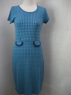 King Louie dress tulip kleid jurk chanel classy blue s m l xl