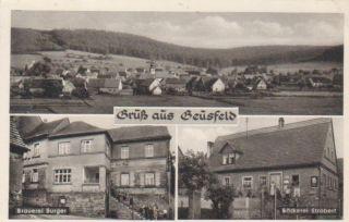 Geusfeld Brauerei Burger Gesamtansicht gl1968 73.093