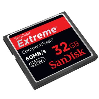 SanDisk 32GB Extreme Compact Flash CF High speed Speicherkarte 400X