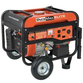DuroMax Elite 4500 Watt Electric Start Portable Gas Powered RV Camping