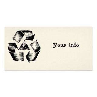 Recycle Eye Phoo Card