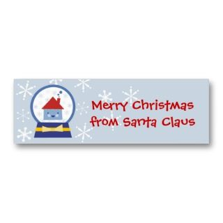 globe kawaii house gift tags business card templates