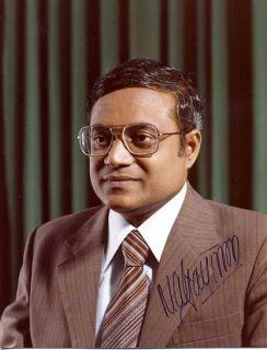 MALEDIVEN Maumoon Abdul Gayoom Autogramm Präsident 78