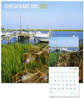Chesapeake Bay   2013 Wall Calendar Calendars