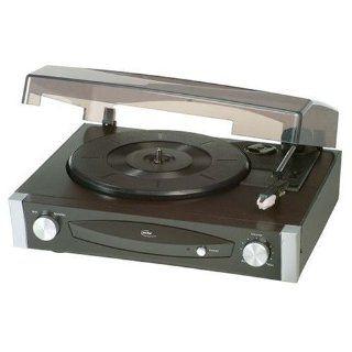 Elta 2950 Stereo Plattenspieler (40 Watt PMPO Lautsprecher, AUX