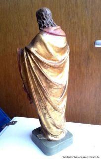Alte Jesus Figur Statue Skulptur 33 cm