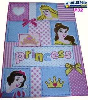 Disney Teppich P32 *Princess Patchwork* 95x133 cm NEU Spielteppich