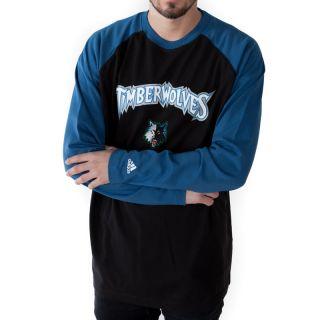 Adidas Minnesota Timberwolves Longsleeve Shirt Gr. L Langarm NBA