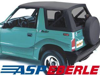 Verdeck Softtop Ersatzverdeck Top Suzuki Vitara 88 04 Cabrio Dach