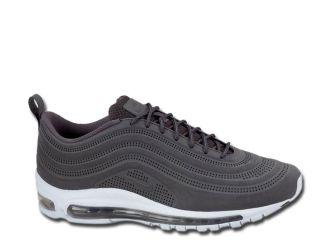 Nike Air Max 97 ´97 VT Schuhe Leder 2012 Sneaker Grau Weiss 40   47,5