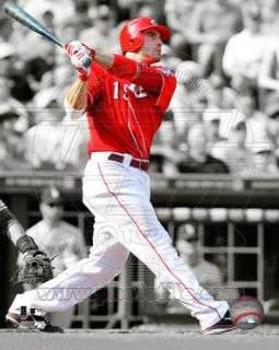 Joey Votto 2011 Spotlight Action Photo