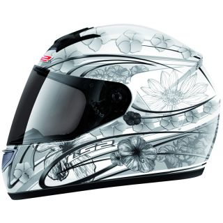 LS2 FF351 STARDUST 2 LADIES LIGHTWEIGHT MOTORBIKE WOMENS MOTORCYCLE
