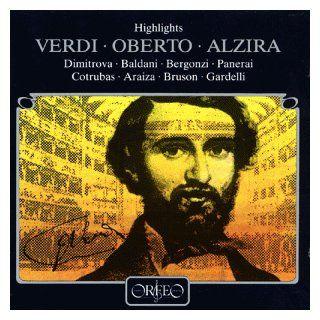 Giuseppe Verdi Highlights aus Alzira und Oberto Musik