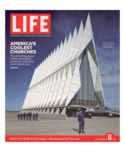Cadet Chapel at the U. S. Air Force Academy, April 6, 2007 Photographic Print by Floto & Warner