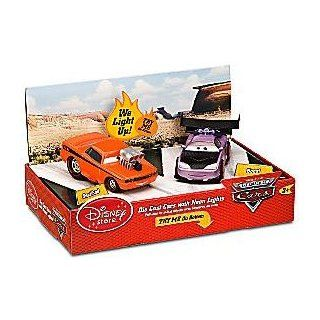 Disney / Pixar CARS 148 Die Cast Cars with Neon Lights   Snot Rod