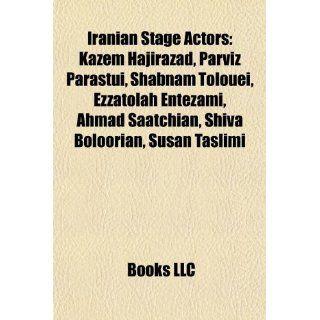 Iranian Stage Actors Kazem Hajirazad, Parviz Parastui, Shabnam