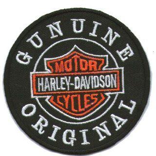 Logo Aufnäher / Iron on Patch  Harley Davidson   Gunuine