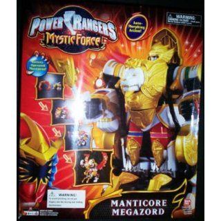 Power Rangers   Mystic Force   MANTICORE Megazord   vom Lion Zord zum
