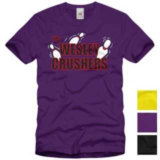 Wesley Crushers T Shirt Big Bang Theory Sheldon Star Bowling Pin