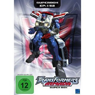 Transformers: Armada   Superbox Episoden 01 52 4 DVDs: