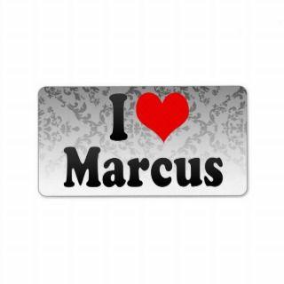 love Marcus Address Label