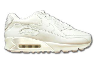 Nike Air Max 90 Premium Weiss Leder Neu Größen wählbar