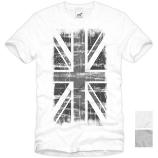 ENGLAND Great Britain Union Jack Vintage T Shirt Flagge United Kingdom