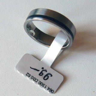 Herren Ring TeNo Edelstahl G.60 VK 99,  NEU